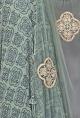 Bhumika SharmaRusty green and navy blue printed anarkali set