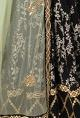 Ritika MirchandaniBlack printed and gold embellished lehenga set