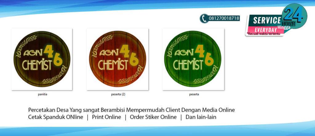 Souvenir Cetak Pin Jakarta Berkualitas Design Bebas 1