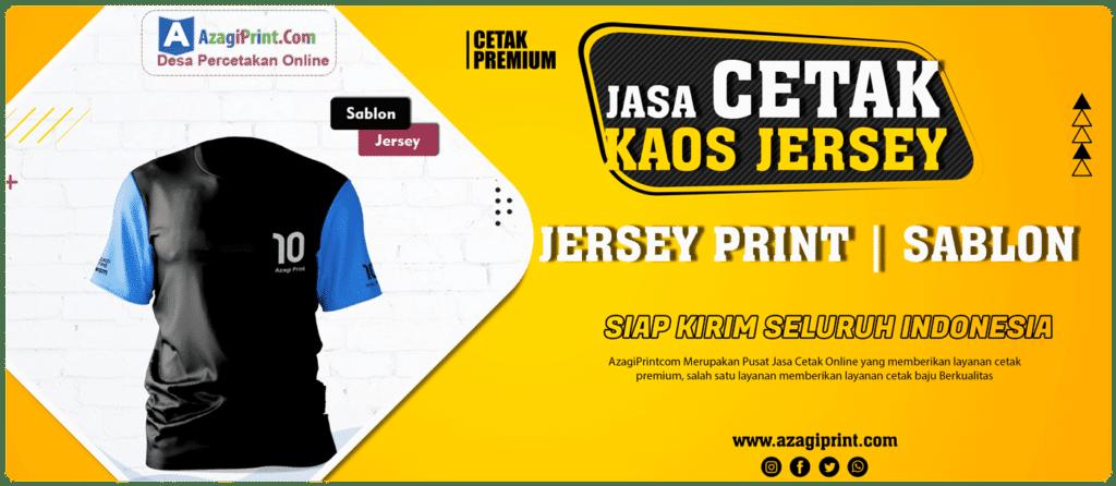 Cetak Kaos Jersey di Jakarta