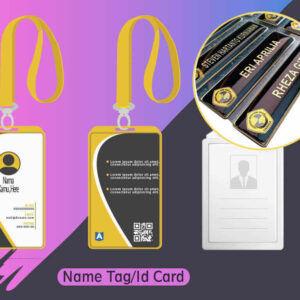 Nametag & id Card
