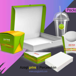 Cetak Packaging, Box Makanan