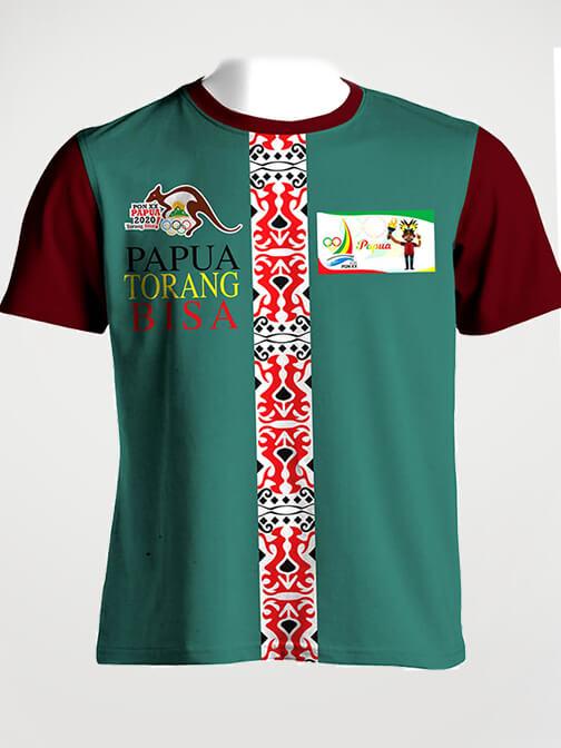 Percetakan Baju Kaos Di Jakarta Bahan Katun Premium 2
