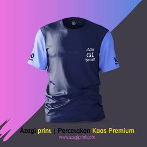cetak baju premium