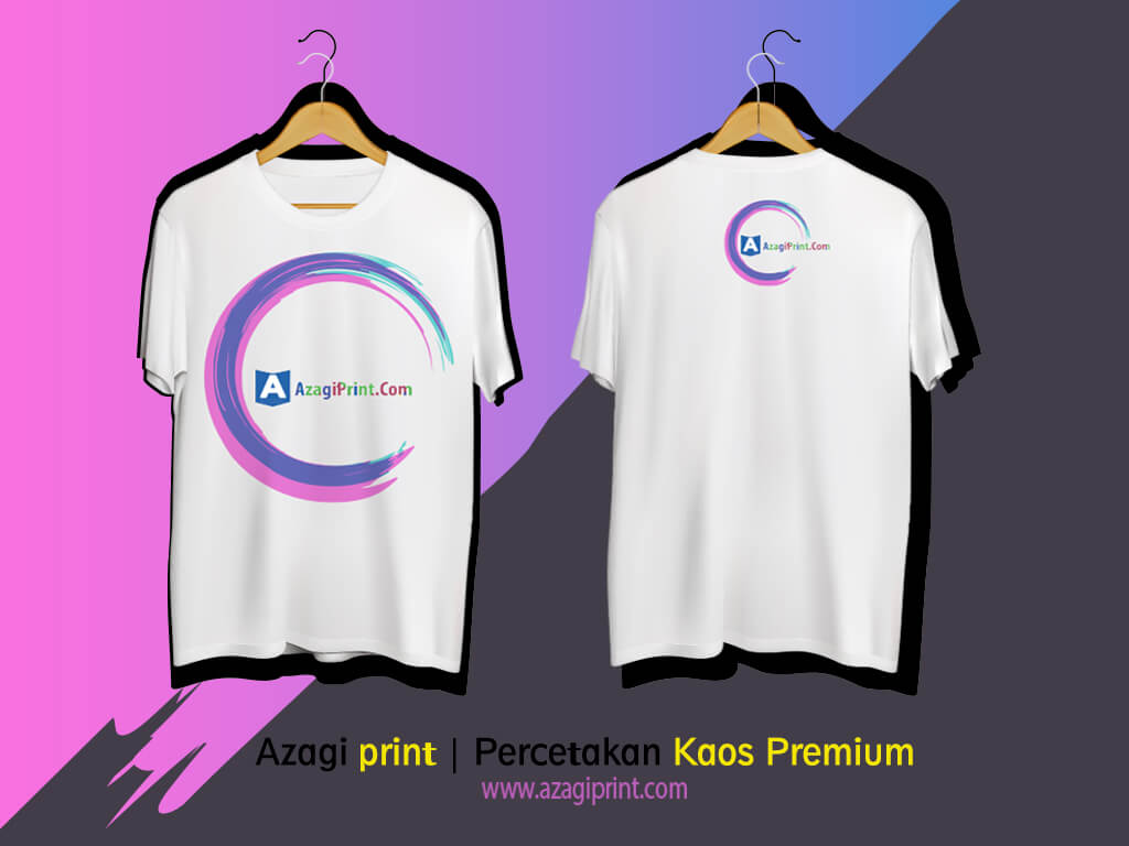 Percetakan Baju Kaos Di Jakarta Bahan Katun Premium 1