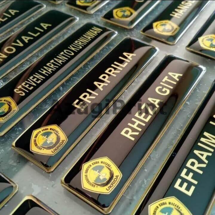 cetak name tag & id card jakarta barat