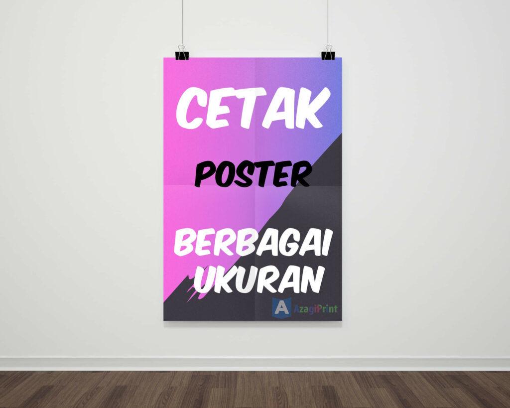 Cetak Poster Online