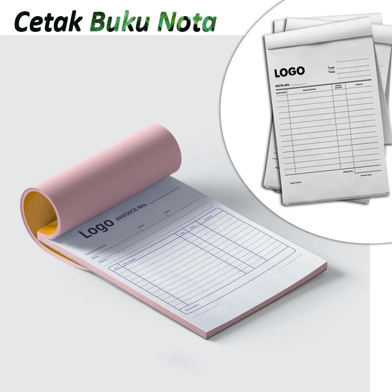 Jasa Cetak buku Nota jakarta