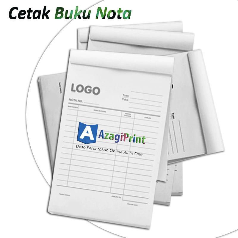 Jasa Cetak Buku Nota Murah NCR 1,2,3 Ply - Azagi Print 1