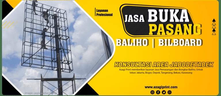 Jasa Pasang Baliho di Jakarta