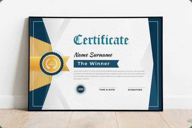 Jenis Kertas sertifikat