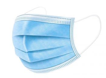 Blue Surgical Face Masks made by CBDArmour