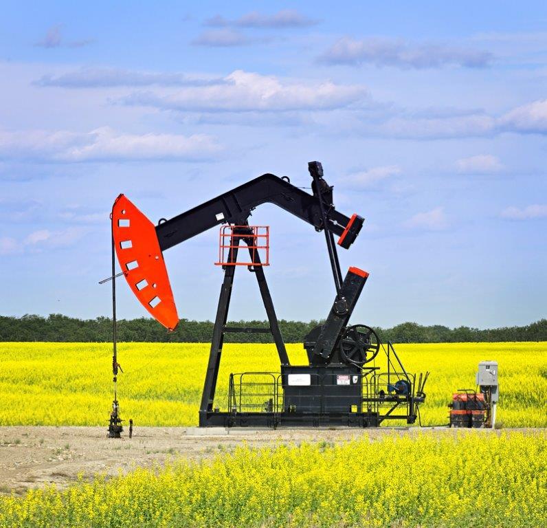 Oils field and land development
