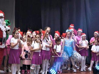 Belocrkvanske mazoretkinje novogodisnji koncert