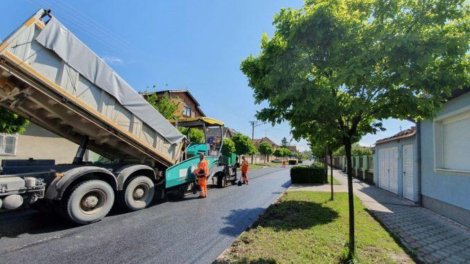 Vojvodjanskih brigada asfaltiranje