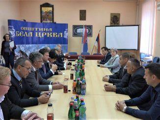 Ceska parlamentarna delegacija u Beloj Crkvi