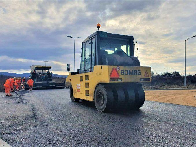 Industrijska zona asfaltiranje
