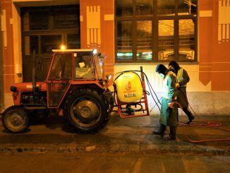 Dezinfekcija ulica Bela Crkva