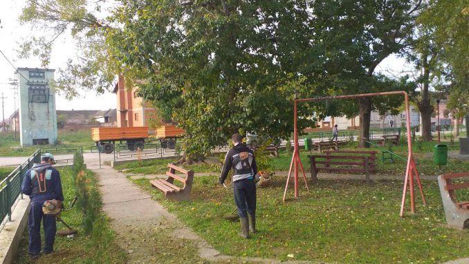 JKP Belocrkvanski komunalac košenje trave Banatska Palanka