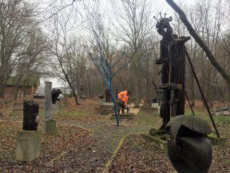 Park skulptura Jasenovo radovi 1
