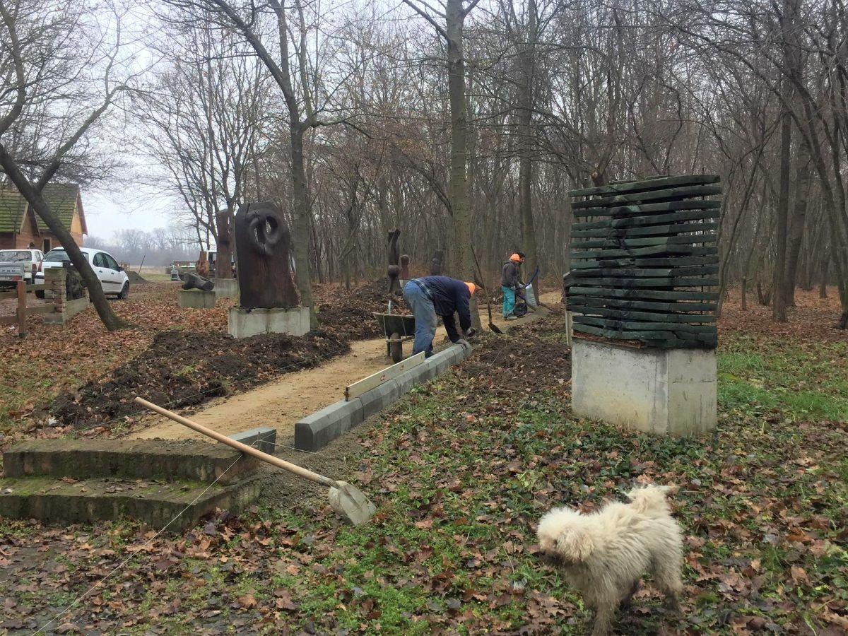 Park skulptura Jasenovo radovi 2