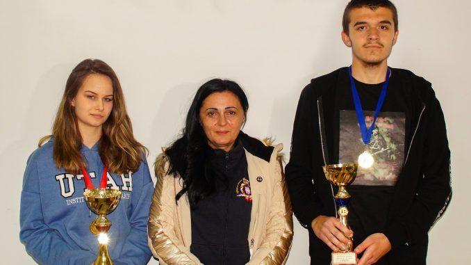 Veljkovic i Obradovic sa predsednicom opstine Violetom Simic