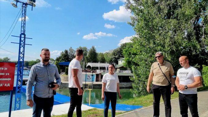 Violeta Simic poseta VK Jezero