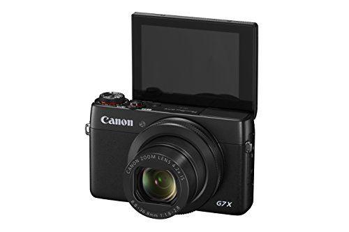 canon powershot g7 x flip screen for vlogging