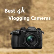 7 best 4k vlogging cameras / Featured image