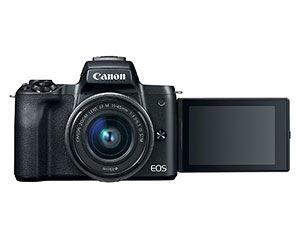 Side flip screen on the Canon EOS M50