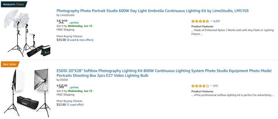 lighting kits