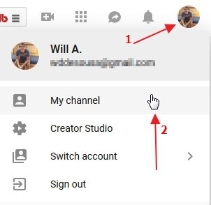 open your channel