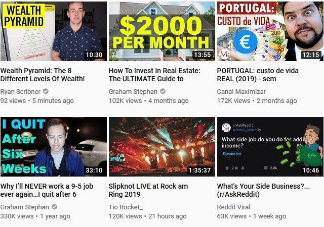 youtube thumbnails example
