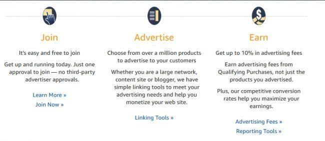 use amazon affiliate program to make money from youtube