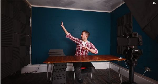 youtube studio at home