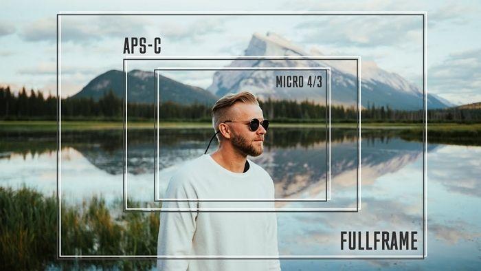 aps-c vs micro four thirds vs full frame sensor size different frames