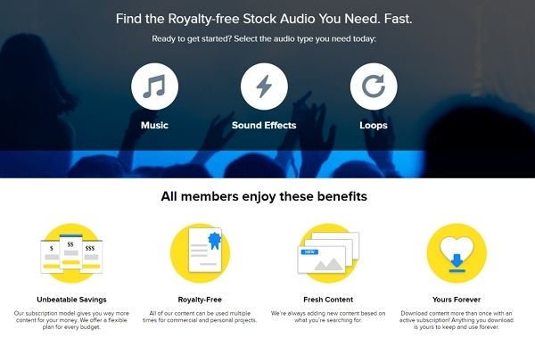 storyblocks copyright free music