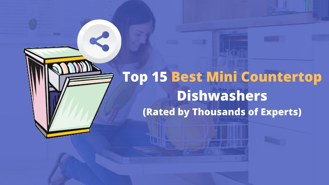 Mini countertop dishwashers