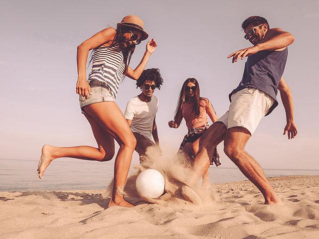 The Best Beach Sports