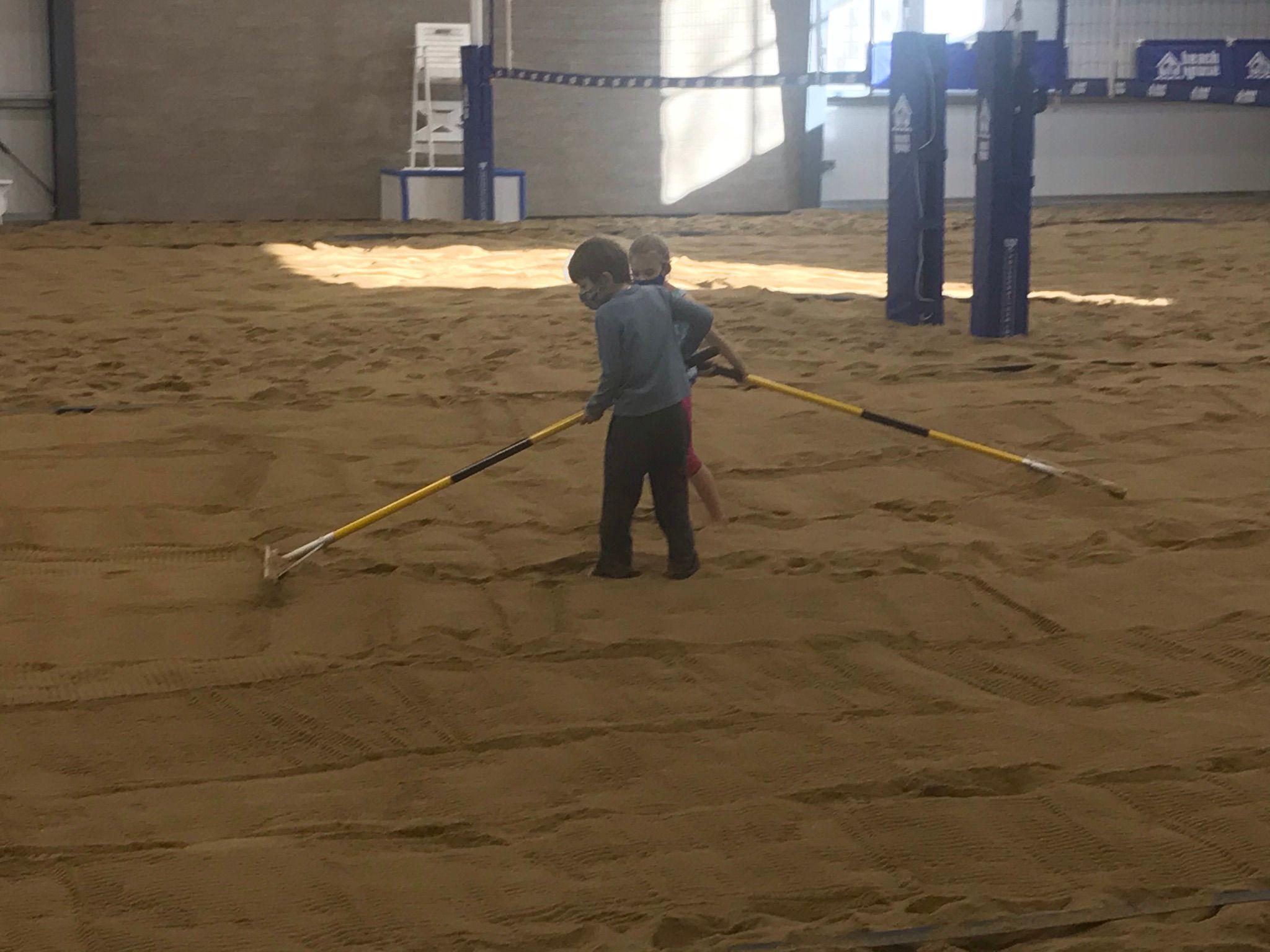 Beach House Court Maintenance Crew ACTIVATED!!!!!