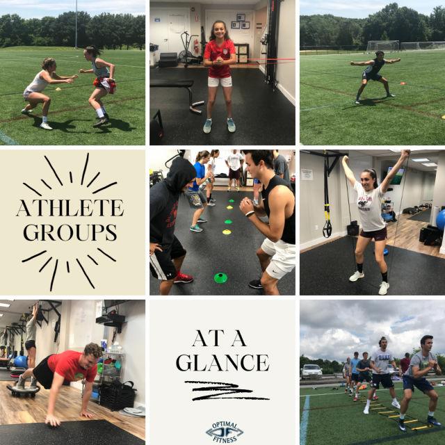 Optimal Fitness Athlete Camp