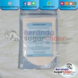 Instant HPW Makanan Hewan Kecil Peliharaan Kecil Sugar Glider SG Bajing Kelapa Landak Mini Tupai Terbang