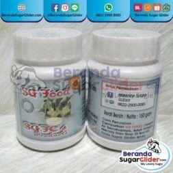 SG Food Makanan Hewan Peliharaan Kecil Sugar SG Bajing Kelapa Landak Mini Tupai Terbang Mamalia