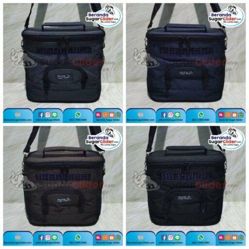 Travel Cage Kotak Polos Aksesoris Hewan Peliharaan Kecil Tas Kandang Sugar Glider SG Bajing Kelapa Landak Mini Tupai Terbang Mamalia 13122018