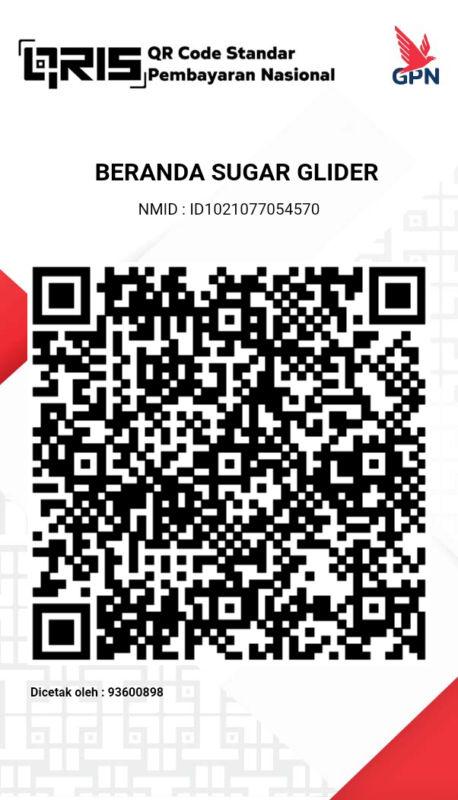 Qris Beranda Sugar Glider