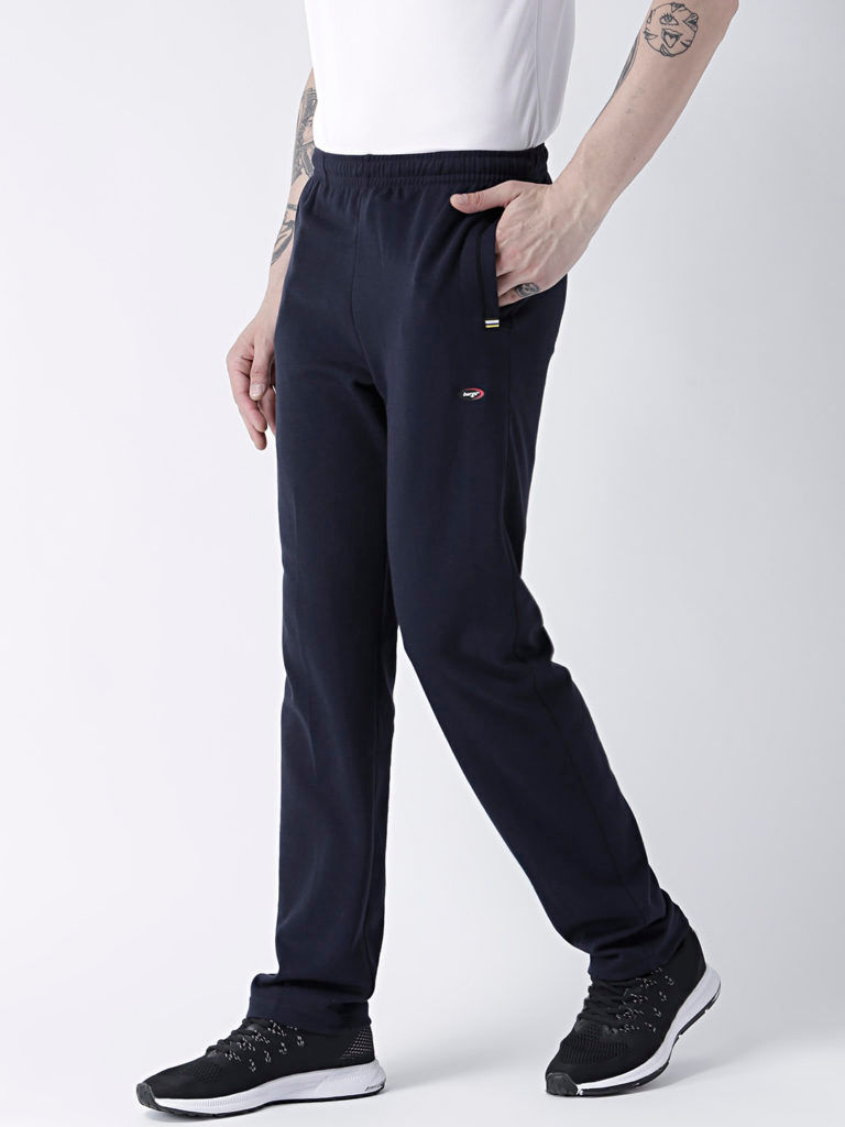 Track Pants Knits Slim Fit