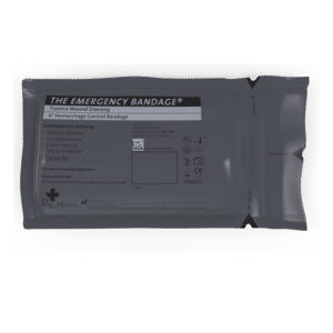 "4"" Emergency Bandage (Military) aka Israeli Bandage (NSN: 6510-01-460-0849)"