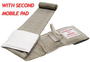 "4"" Emergency Bandage (Military) aka Israeli Bandage with 2nd Mobile Pad (NSN: 6510-01-580-1639)"