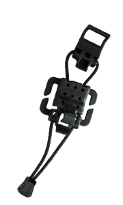 Elasto-Lok Ice Axle Buckle aka Tactical Gear Clip (Compatible with MOLLE System)