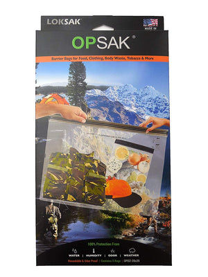 OPSAK Element Proof & Odor Proof Bags  - 2 Packs of Various Sizes